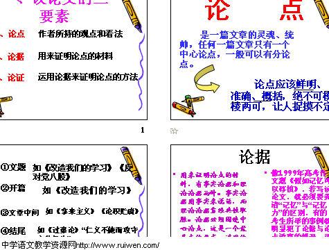 并列式议论文病毒高中截图rna复制课件自我图片