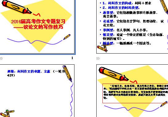 专题二议论文写作的基本模式与结构(学生版)
