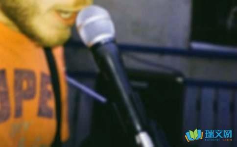 唱歌的心情说说精选