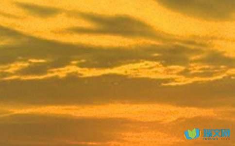 关于描写日落的优美句子